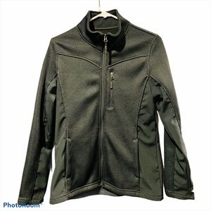 ❤️5/25 FADED GLORY Black Zip Up Jacket
